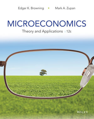 Microeconomics: Theory and Applications, 12th Edition (EHEP003217) cover image