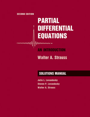 Student Solutions Manual to accompany Partial Differential Equations: An Introduction, 2e