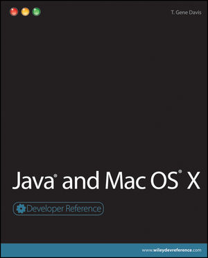 Java and Mac OS X (0470525118) cover image