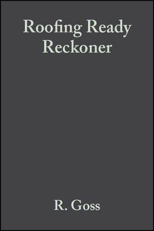 Roofing Ready Reckoner, 3rd Edition (0470680318) cover image