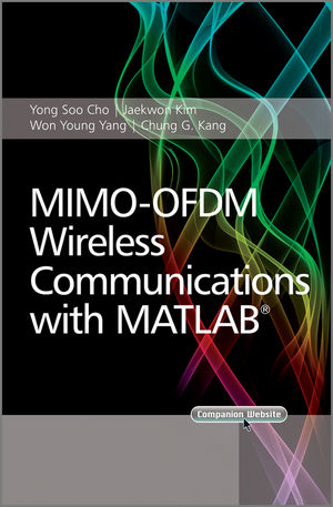 MIMO-OFDM Wireless Communications with MATLAB (0470825618) cover image
