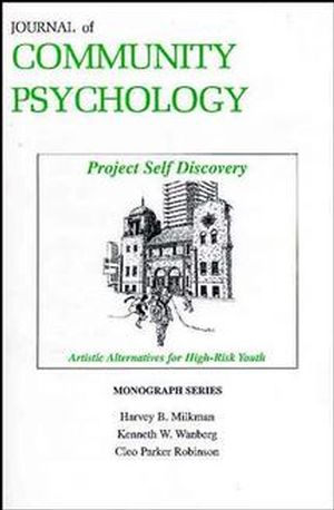 Project Self Discovery: Artistic Alternatives for High Risk Youth (0471162418) cover image