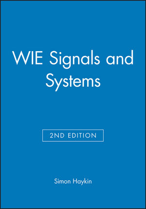 WIE Signals and Systems, 2nd Edition, International Edition