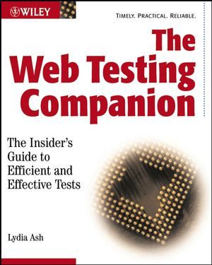 The Web Testing Companion: The Insider