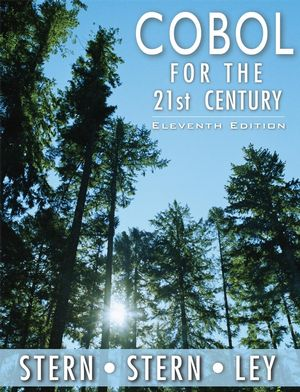 COBOL for the 21st Century, 11th Edition (0471722618) cover image