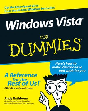Windows Vista For Dummies (0471754218) cover image