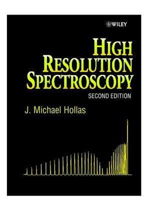 High Resolution Spectroscopy, 2nd Edition (0471974218) cover image