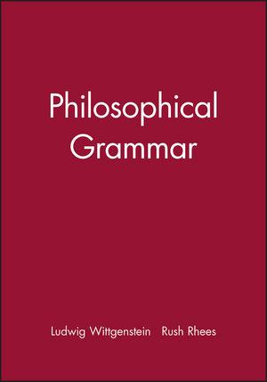 Philosophical Grammar
