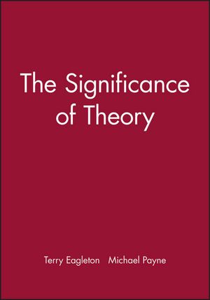 The Significance of Theory (0631172718) cover image