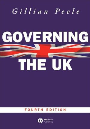 Governing the UK: British Politics in the 21st Century, 4th Edition (0631226818) cover image