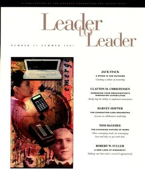 Leader to Leader (LTL), Volume 21, Summer 2001