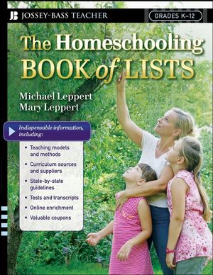 The Homeschooling Book of Lists (0787996718) cover image