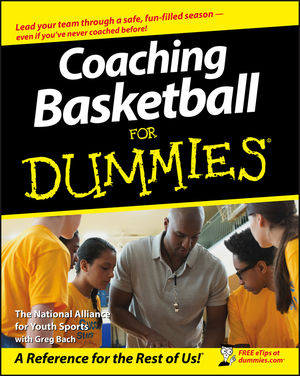 Coaching Basketball For Dummies (1118051718) cover image