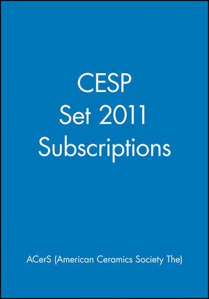 CESP Set 2011 Subscriptions (1118089618) cover image