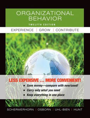 Organizational Behavior, 12th Edition Binder Ready Version