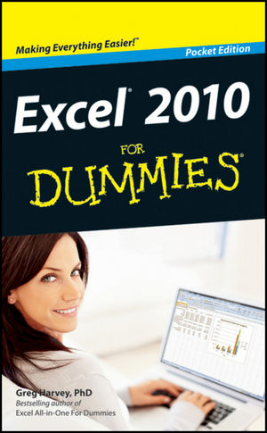 Excel 2010 For Dummies, Pocket Edition