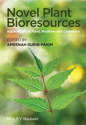 Novel Plant Bioresources: Applications in Food, Medicine and Cosmetics (1118460618) cover image