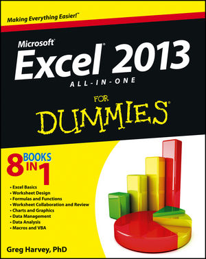 Excel 2013 All-in-One For Dummies (1118550218) cover image