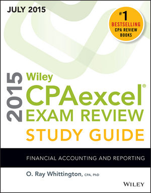 Wiley CPAexcel Exam Review 2015 Study Guide July: Financial Accounting and Reporting