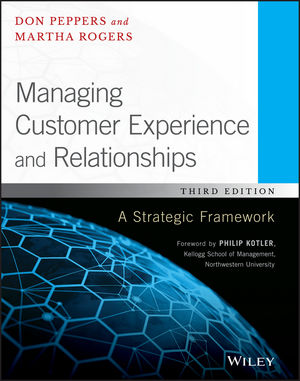 Managing Customer Experience and Relationships: A Strategic Framework, 3rd Edition (1119239818) cover image
