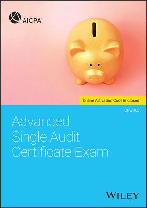 Advanced Single Audit Certificate Exam