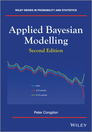 Applied Bayesian Modelling, 2nd Edition (1119951518) cover image