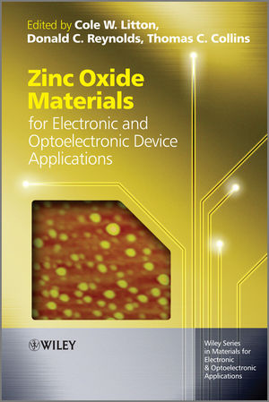 Zinc Oxide Materials for Electronic and Optoelectronic Device Applications (1119991218) cover image