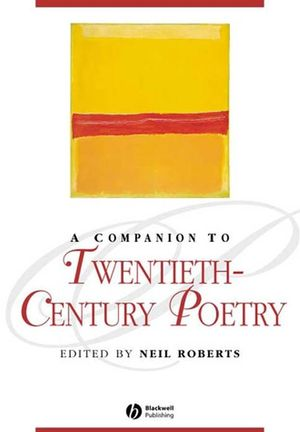 A Companion to Twentieth-Century Poetry (1405113618) cover image