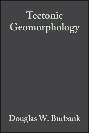 Tectonic Geomorphology (1444313118) cover image