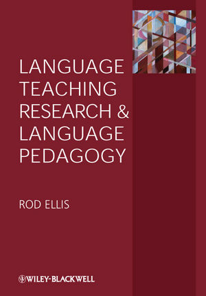 Language Teaching Research and Language Pedagogy (1444336118) cover image
