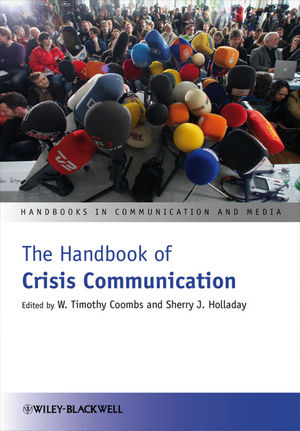 The Handbook of Crisis Communication (1444356518) cover image