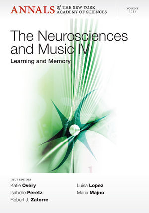 Neurosciences and Music IV: Learning and Memory (1573318418) cover image
