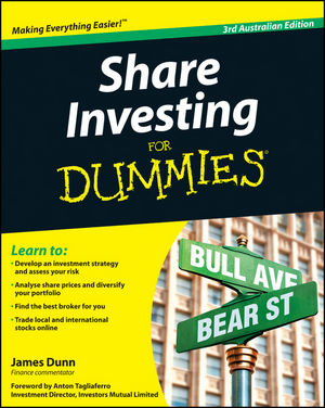 Share Investing For Dummies, 3rd Australian Edition (1742468918) cover image