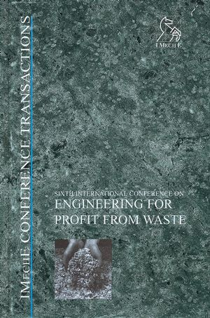 <span class='search-highlight'>Engineering</span> for Profit from Waste VI