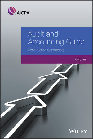 Audit and Accounting Guide: <span class='search-highlight'>Construction</span> Contractors, 2018