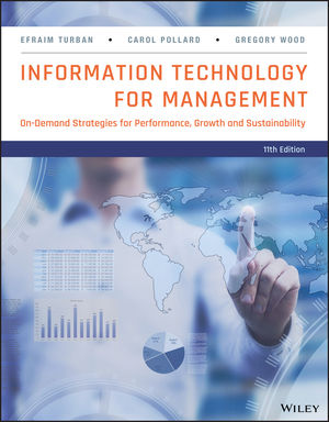 Information Technology for Management: Advancing Sustainable, Profitable Business Growth, 11th Edition (EHEP003718) cover image