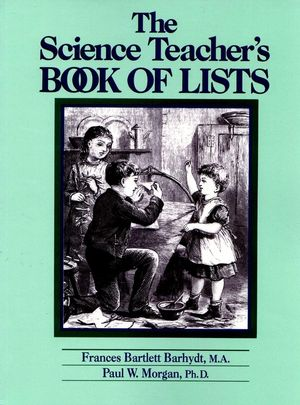 The Science Teacher's Book of Lists (0137933819) cover image