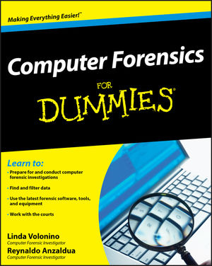 Computer Forensics For Dummies (0470371919) cover image