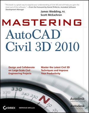 Mastering AutoCAD Civil 3D 2009 (0470447419) cover image