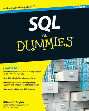 SQL For Dummies, 7th Edition (0470557419) cover image