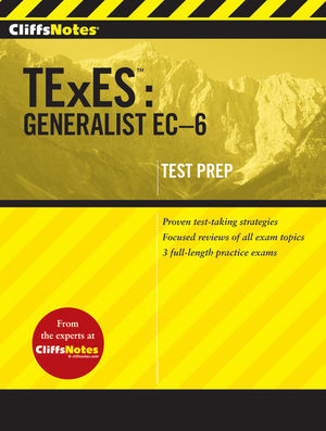 CliffsNotes TExES: Generalist EC-6 (0470599219) cover image