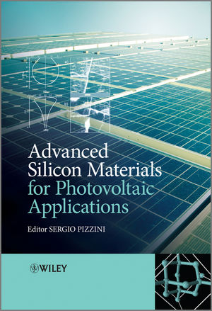 Advanced Silicon Materials for Photovoltaic Applications (0470661119) cover image
