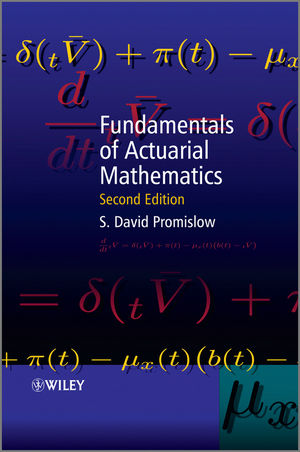 Fundamentals of Actuarial Mathematics, 2nd Edition (0470684119) cover image