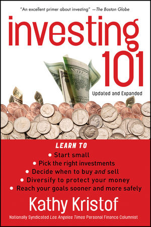 Investing 101, 2nd, Updated and Expanded Edition (0470885319) cover image