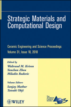 Strategic Materials and Computational Design, Volume 31, Issue 10