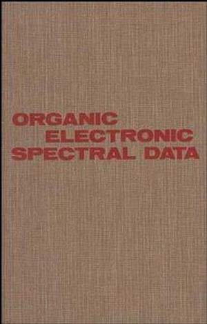 Organic Electronic Spectral Data, Volume 29, 1987