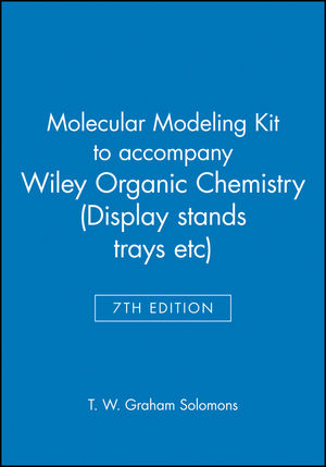 Molecular Modeling Kit to accompany Wiley Organic Chemistry 7e (Display stands, trays etc) (0471362719) cover image