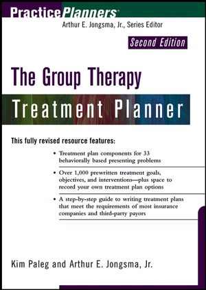 The Group Therapy Treatment Planner, 2nd Edition