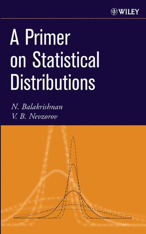 A Primer on Statistical Distributions (0471722219) cover image