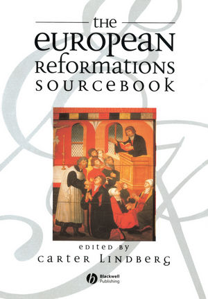 The European Reformations Sourcebook (0631213619) cover image